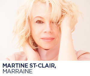 Martine St-Clair, marraine de Blainville en chansons